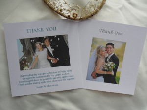 Daisy Chain Invites Thank You Cards