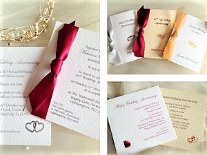 Wedding invitations 60p wedding stationery affordable wedding wedding anniversary invitations stopboris Image collections