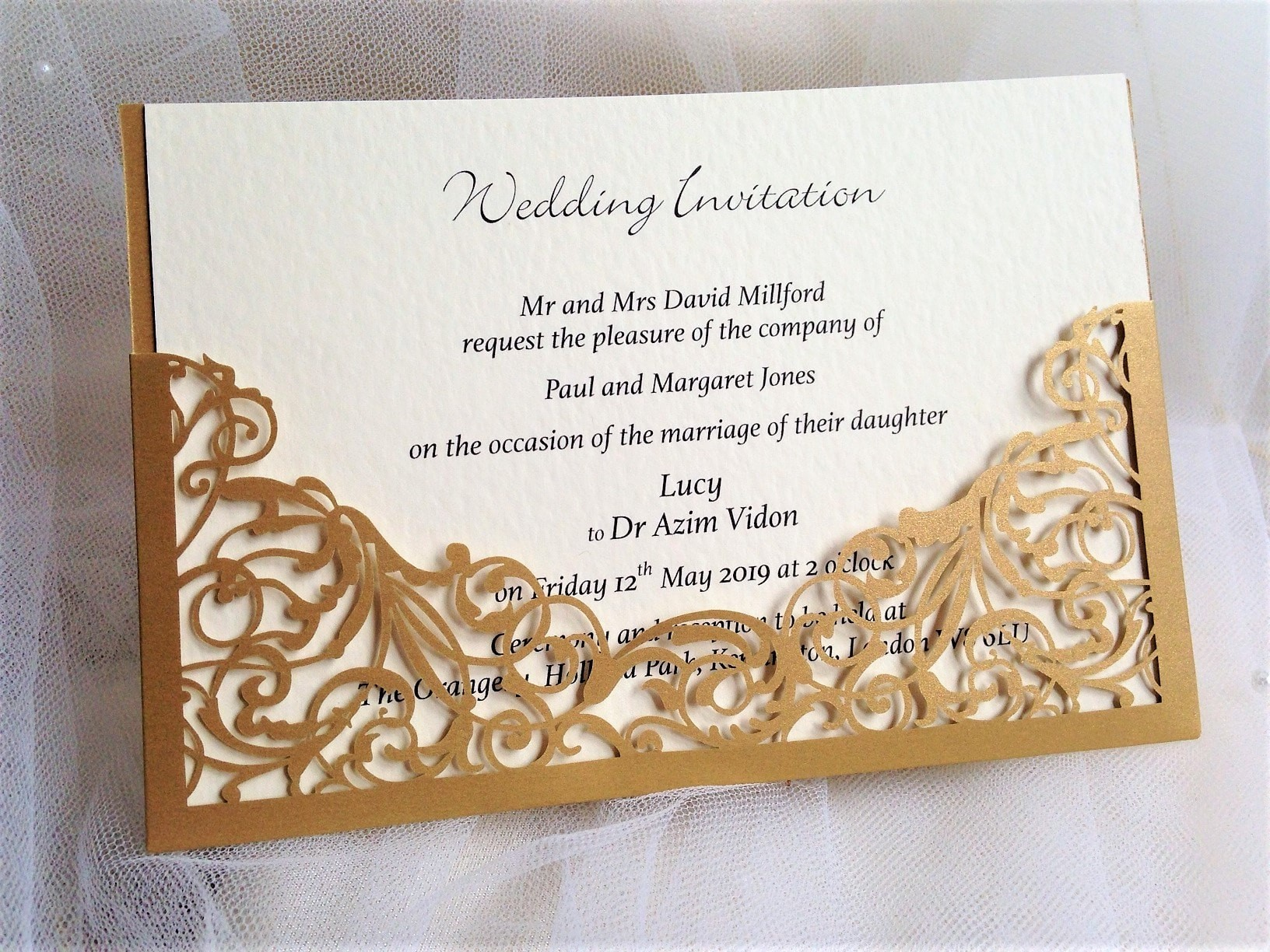 Wedding Invitations England: Wedding Invitations 60p