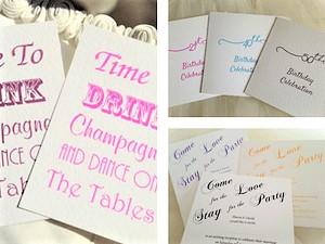 Wedding invitations 60p wedding stationery affordable wedding party invitations stopboris Choice Image