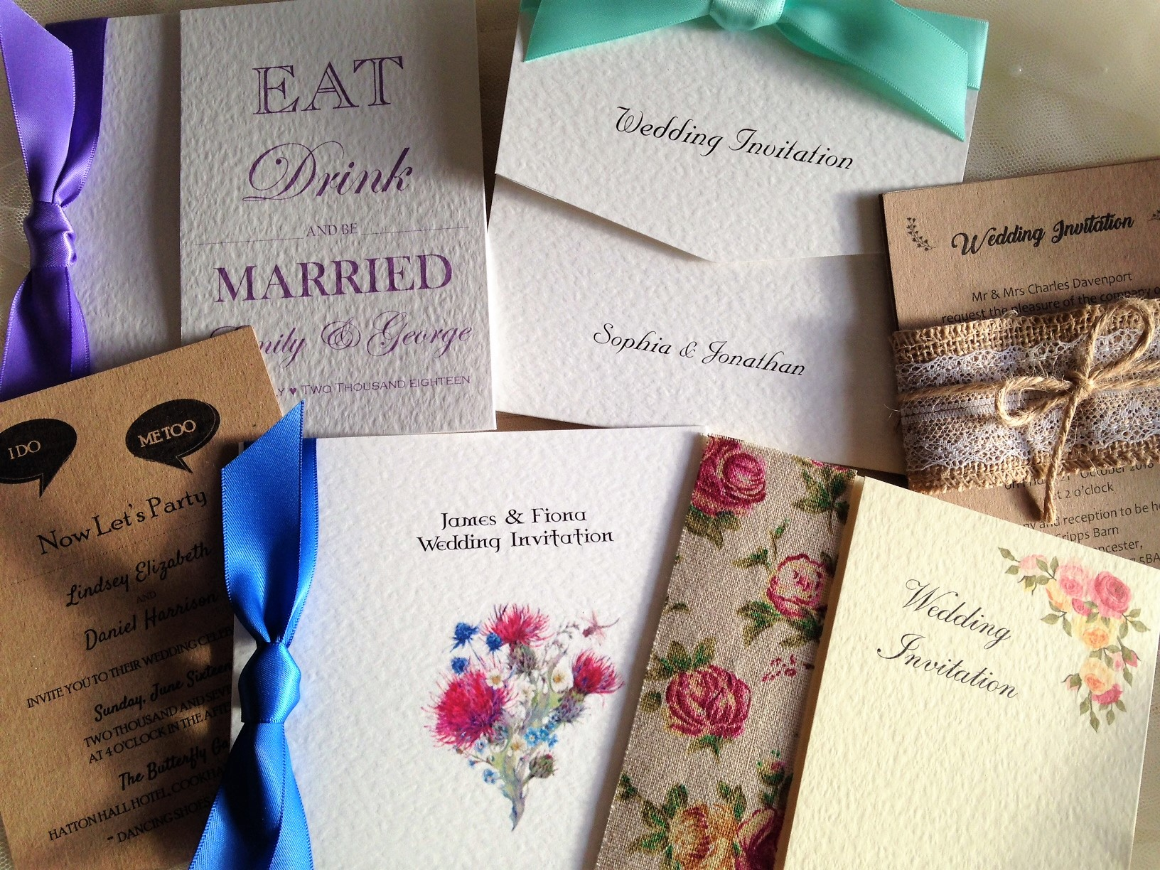 Wedding Invitations England: Wedding Invitations