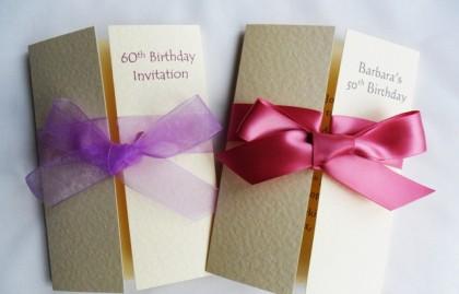 Gatefold Birthday Invitations