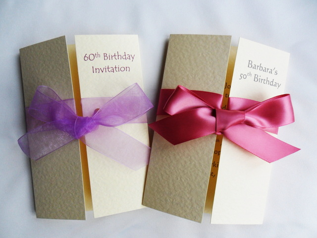 Gatefold Birthday Invitations