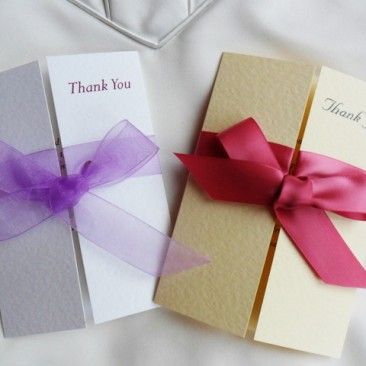Gatefold Thank You Cards