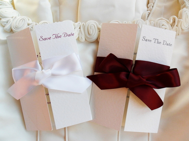 Gatefold Save The Date Cards