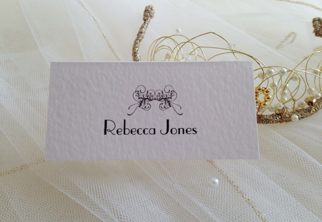 Art Deco Place Cards