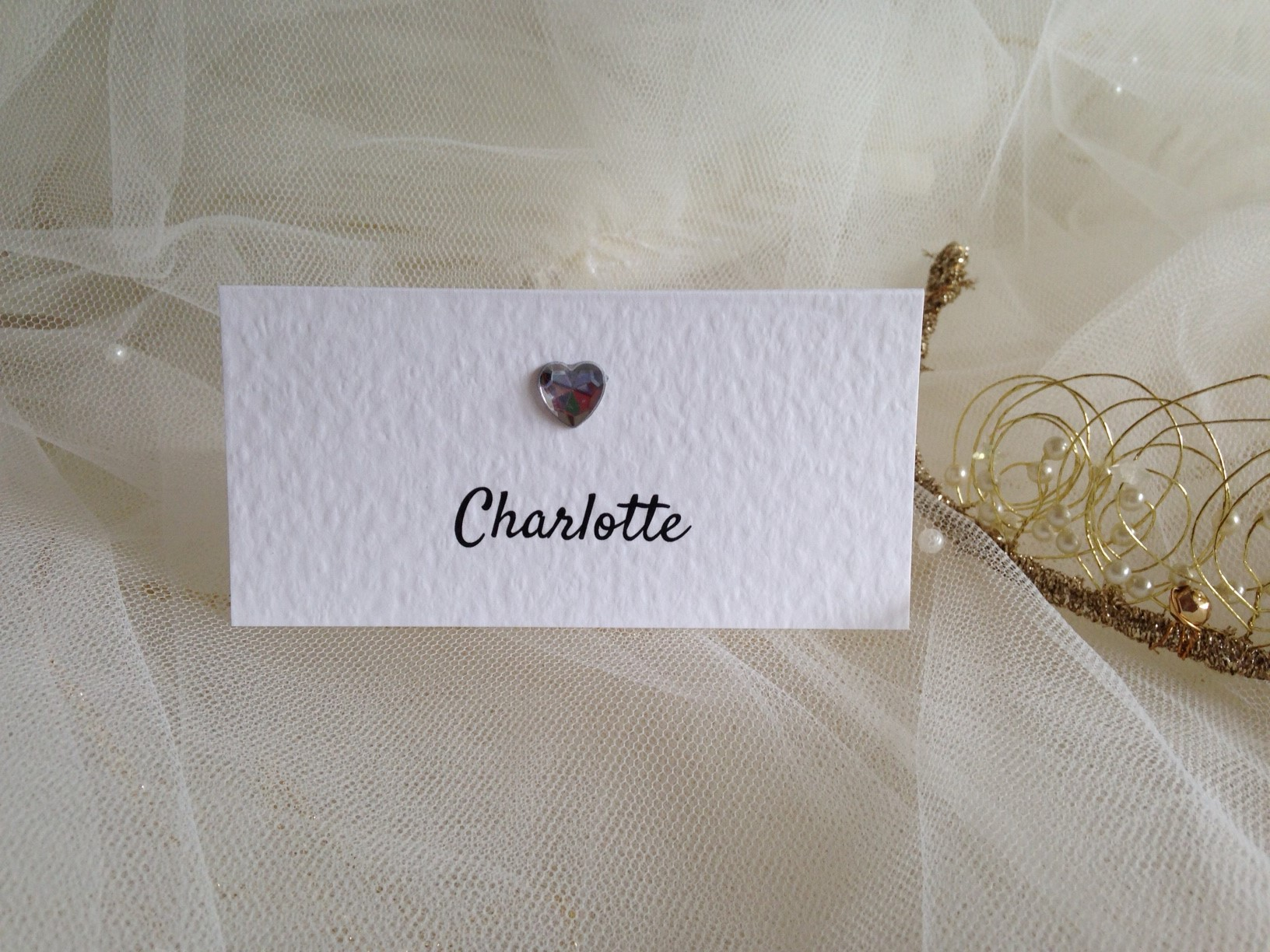 Diamante Place Cards