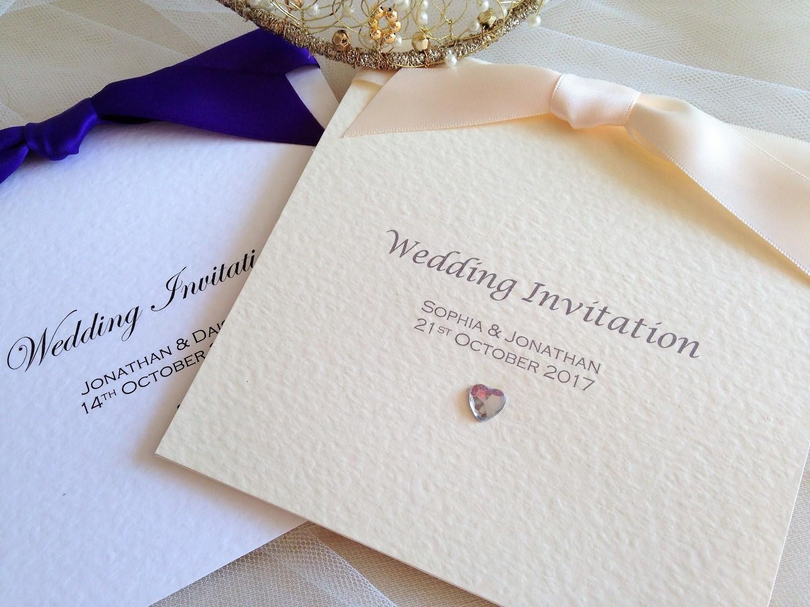 Pocketfold Wedding Invitations | Pocket fold Invites