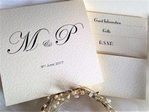 Pocketfold Wedding Invitations (Bottom Pocket)
