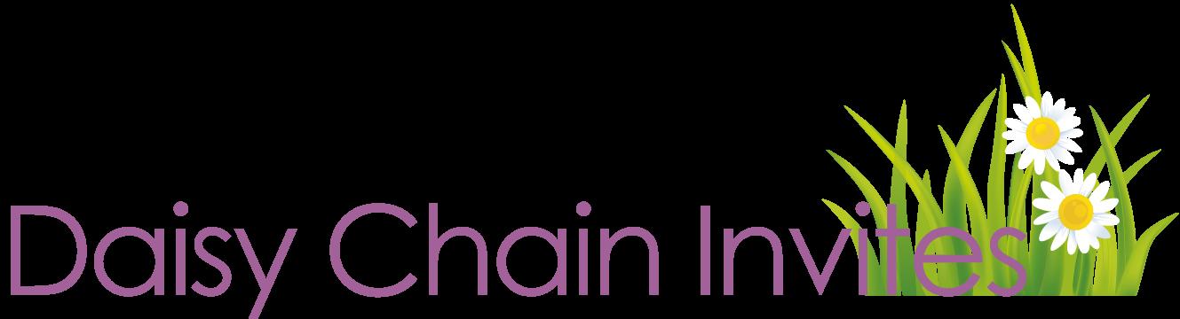 Wedding invitations and wedding stationary from Daisy Chain Invites - logo