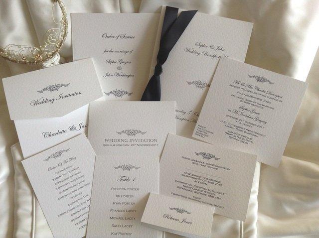 Motif Wedding Stationery Range