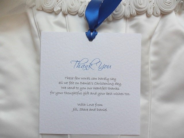 Chantilly Thank You Cards