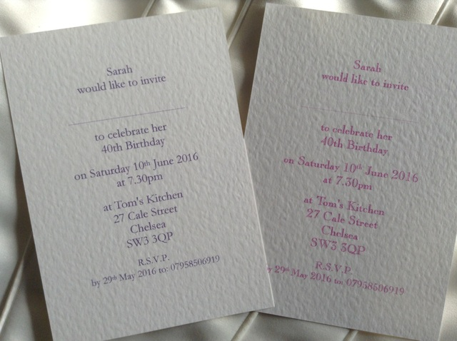 Drink Champagne or Prosecco Party Invitations