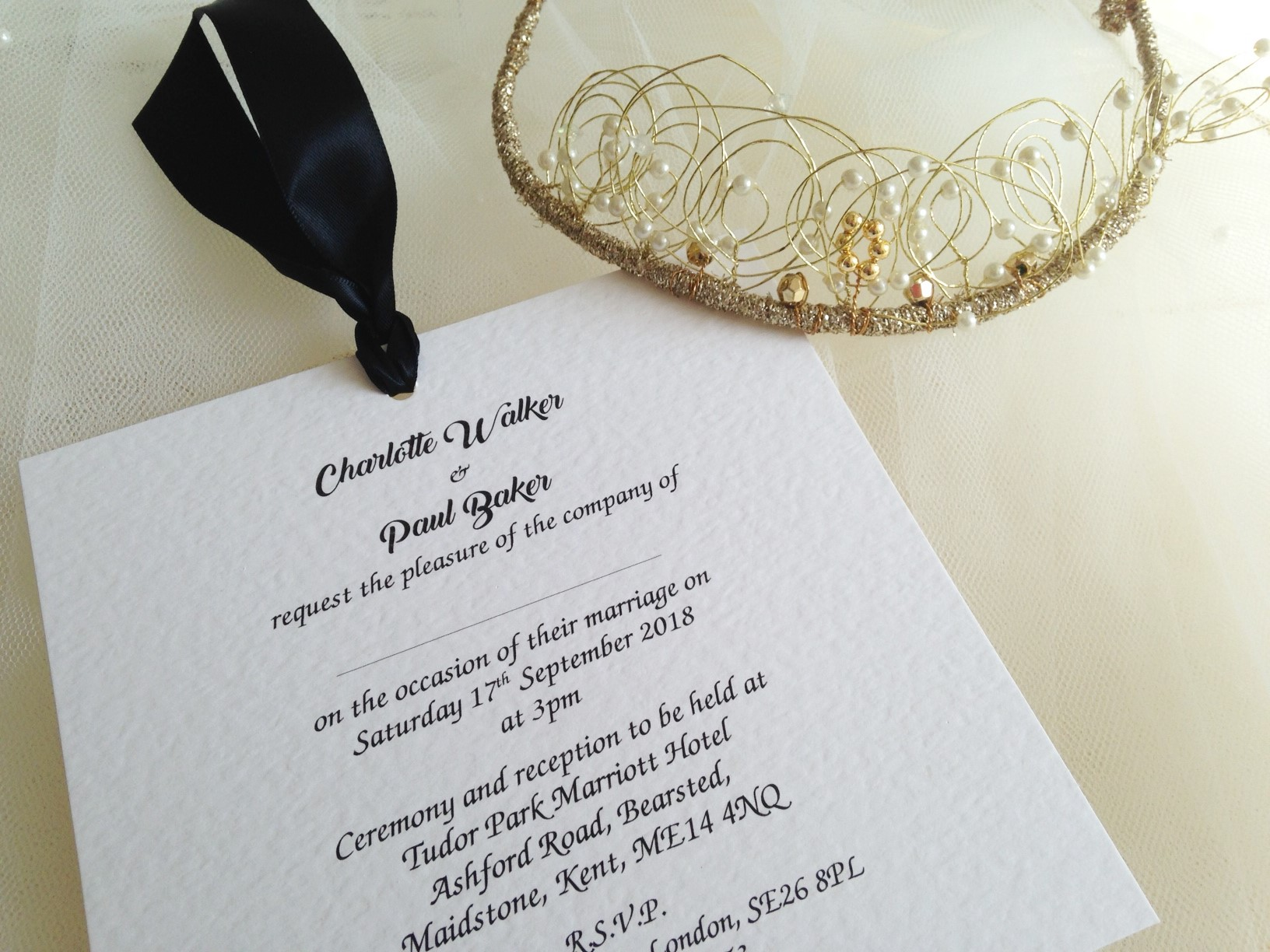 Wedding Invitations With Guest Names Printed Uk