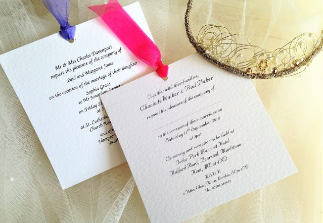 Chantilly Wedding Invites