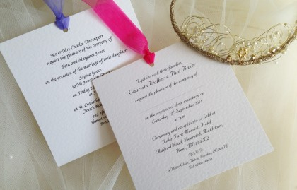 Chantilly Wedding Invitations