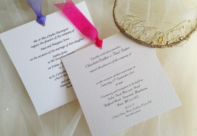 Chantilly Wedding Invitations