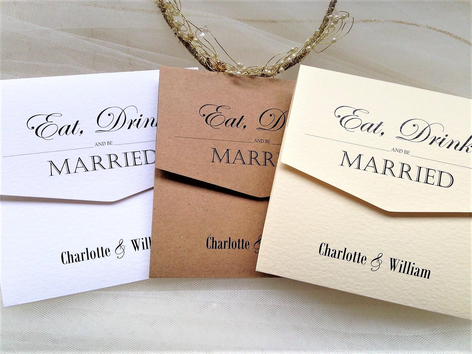 Fold Wedding Invitations: Vintage Tri Fold Wedding Invitations