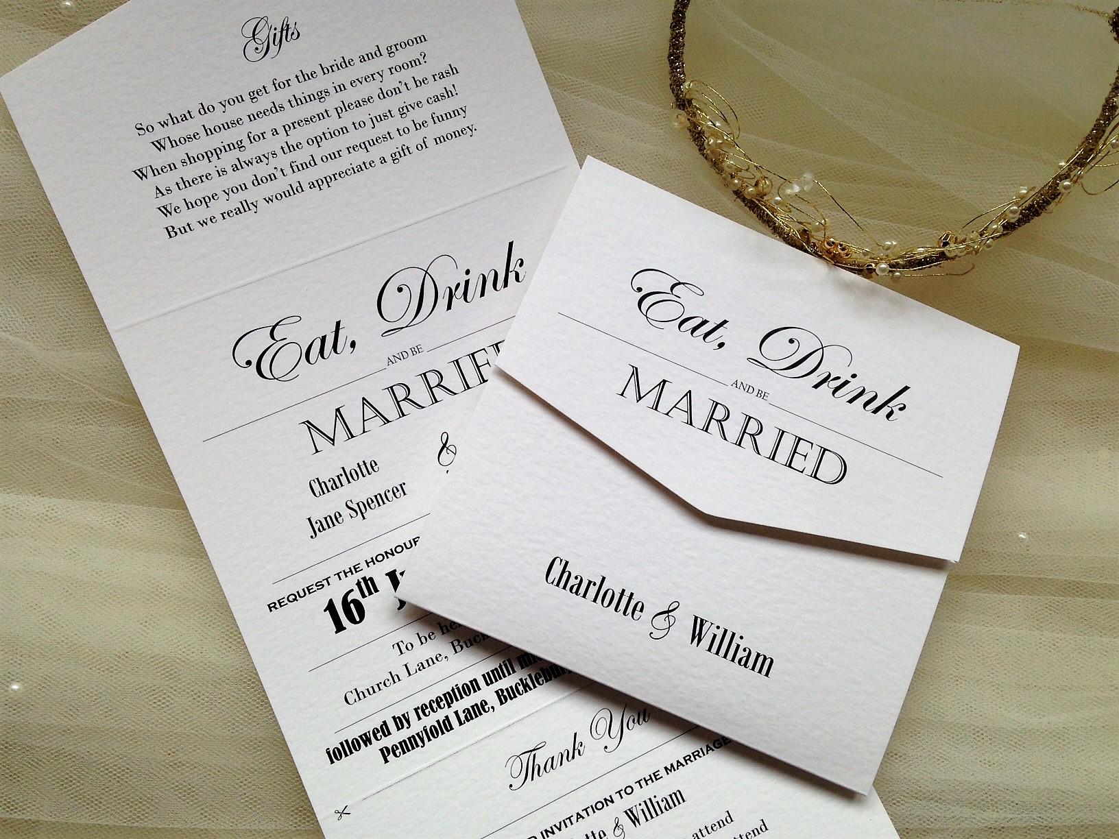 laser cut pocket fold wedding invitations graceful tri fold laser