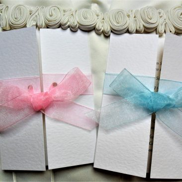 Gatefold Christening Invitations