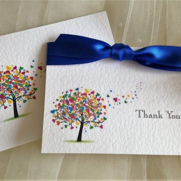 Love Tree Thank You Cards