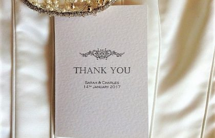 Motif Thank You Cards
