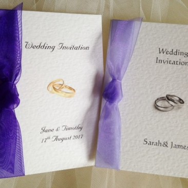 Wedding Rings Wedding Invitations