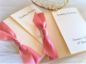 Square Gatefold Wedding Invitations