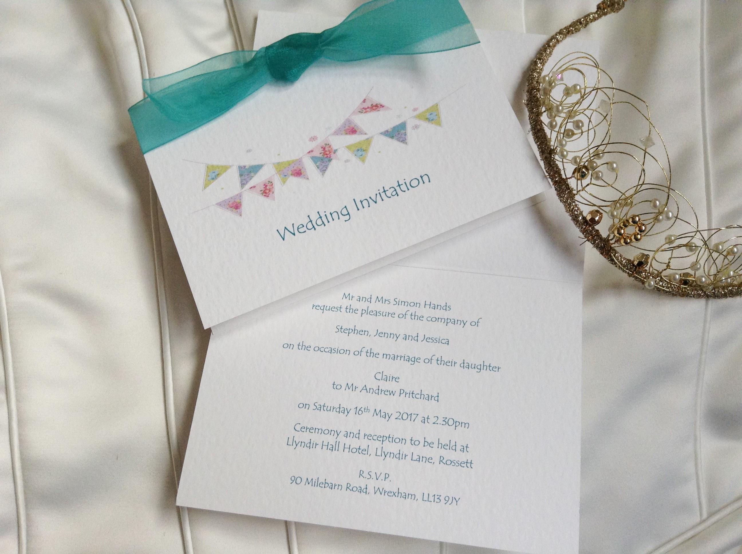 summer-wedding-bunting-top-fold-wedding-invitationsl - Daisy Chain ...