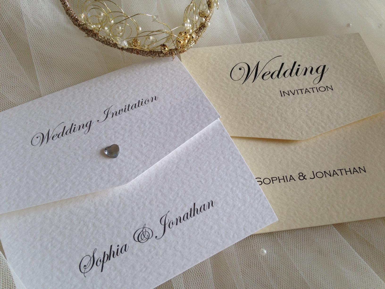 trifold invitation
