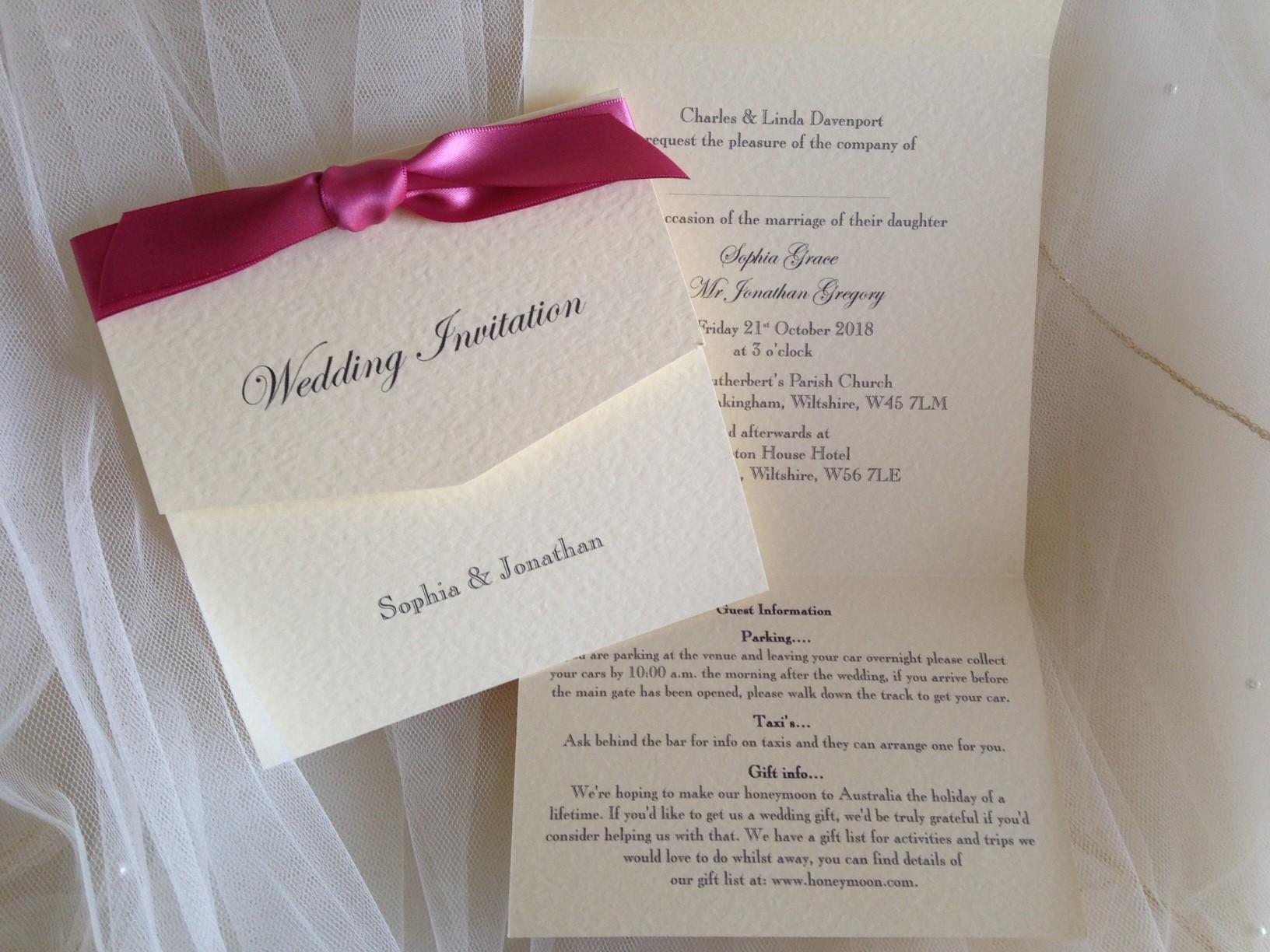 tri fold wedding invitations tri fold wedding invitations in