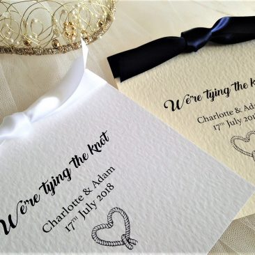 Tying The Knot Wedding Invitations