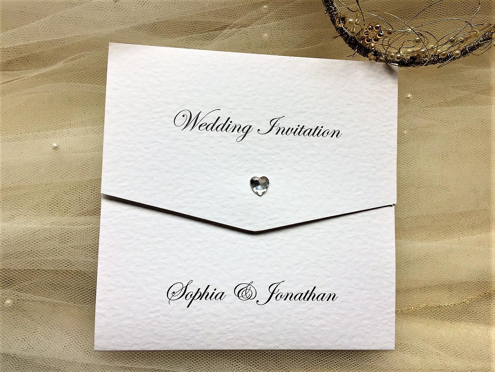 Wallet Wedding Invitations