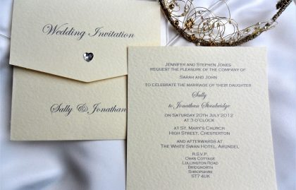 Wallet Wedding Invitations