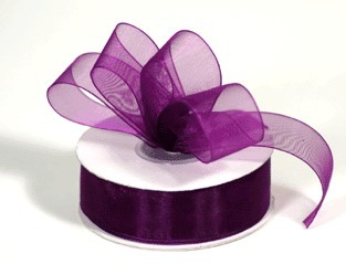 Aubergine Ribbon