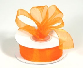 Autumn Orange Ribbon