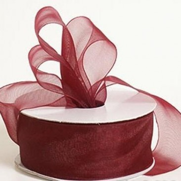 Burgundy Wine Ribbon