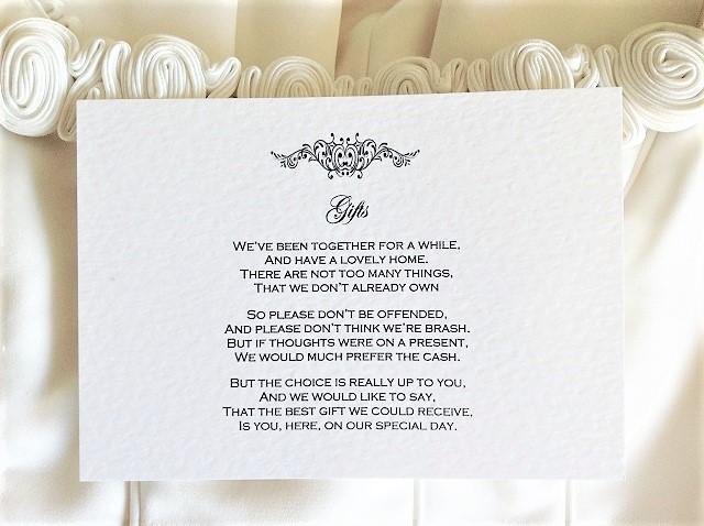Motif Guest Information Cards
