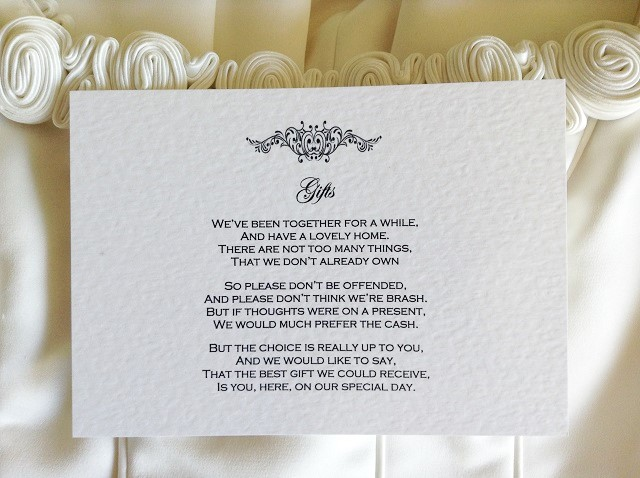 Motif Guest Information Cards
