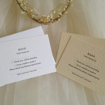 RSVP Cards and Envelopes