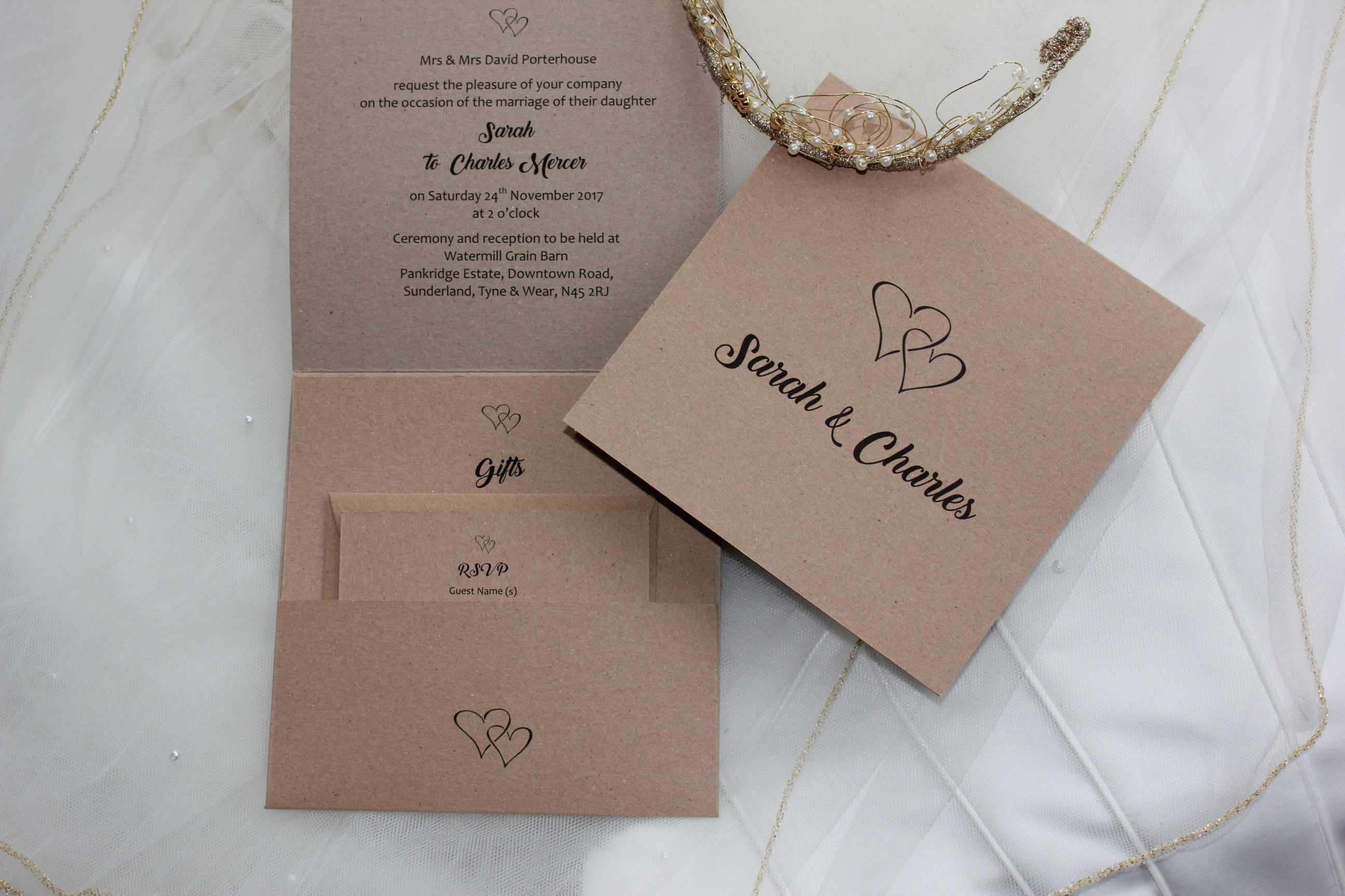 New Wedding Invite Styles - Daisy Chain Invites