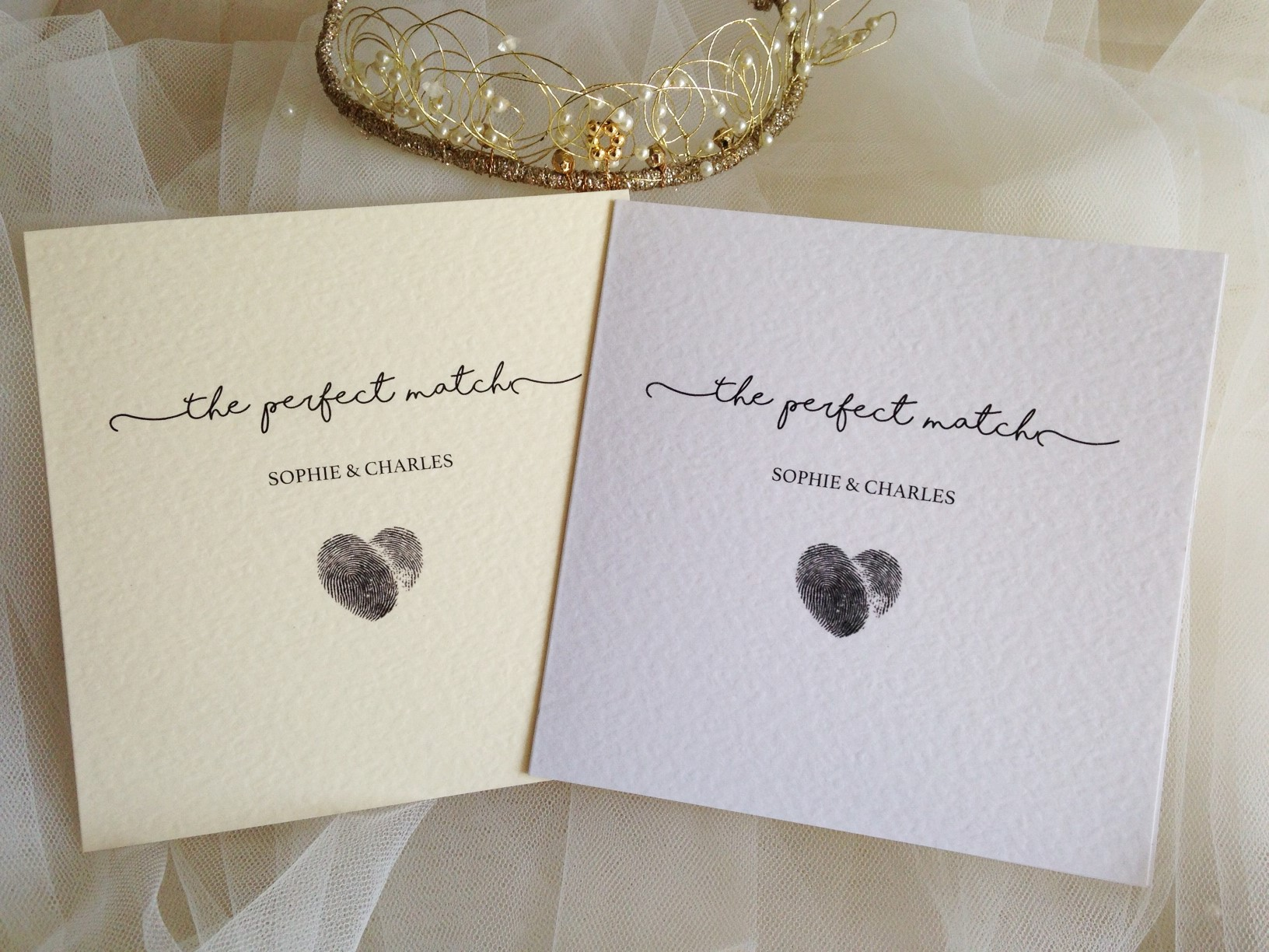 Perfect Wedding Invitations: Perfect Match Wedding Invitations £1.25