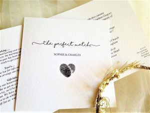 Perfect Match Wedding Invitations
