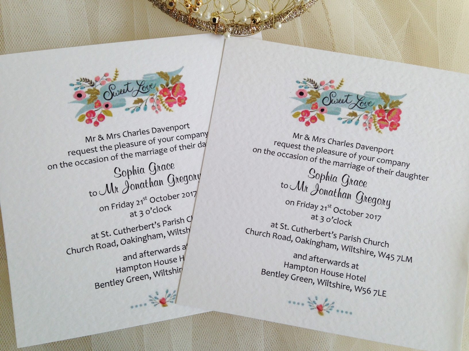 Wedding Invitations England: New Wedding Stationery Ranges