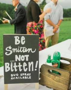 Homemade Wedding Notices