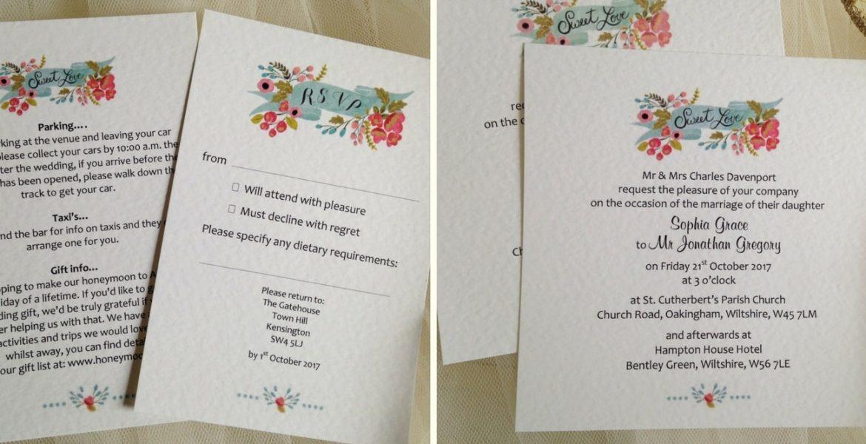Wedding invitations uk wedding stationery affordable for Wedding invitations prices uk