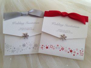 Snowflake Wedding Invitations