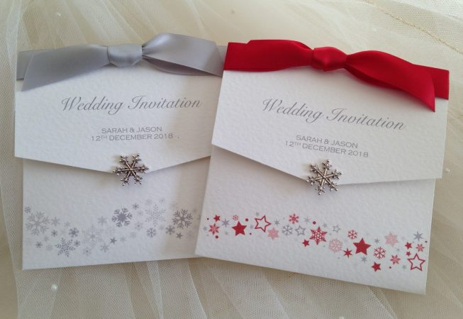Snowflake Wedding Invitations