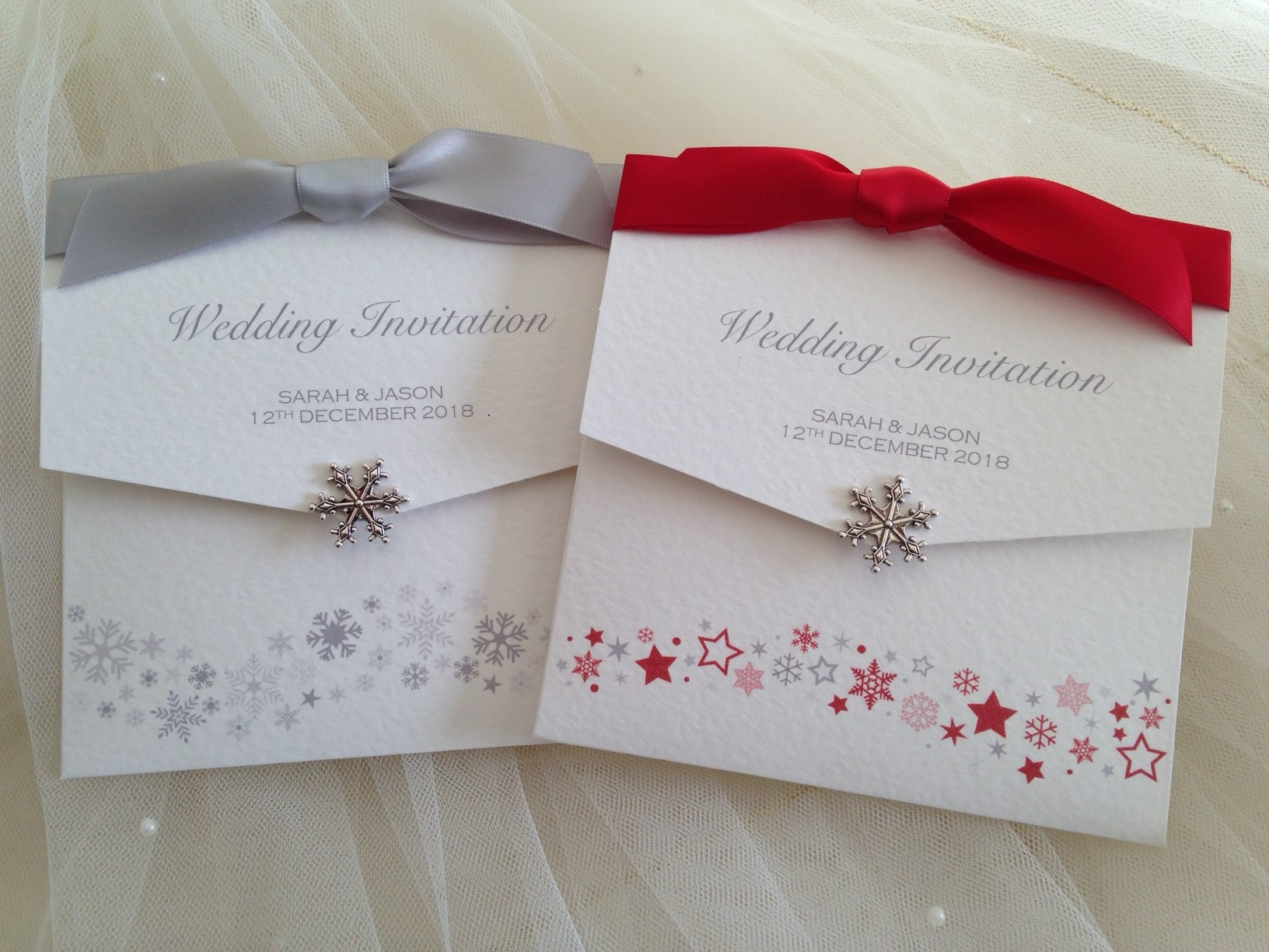 Snowflake Wedding Invitations | Wedding Invitations