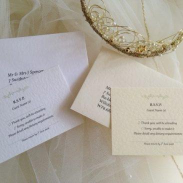 Woodland RSVP Cards and Envelopes